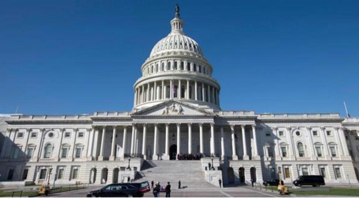 美國國會大廈(網路圖片)